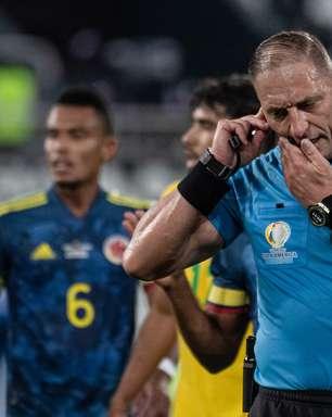 Conmebol divulga áudios do VAR da partida do Brasil