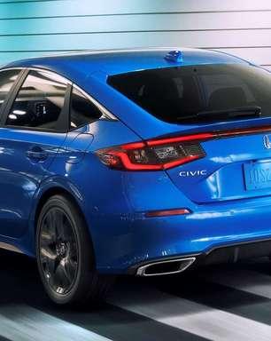 Honda Civic Hatch revelado. É ousado e tem câmbio manual
