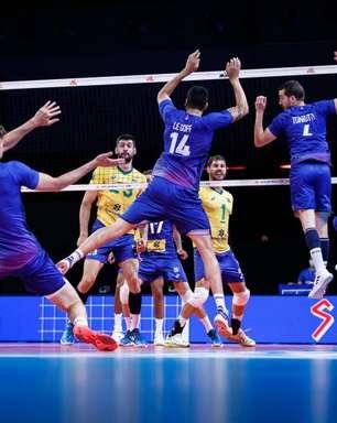 Vôlei: Seleção enfrenta a França na semi da Liga das Nações