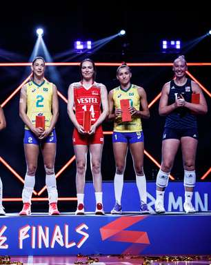 Três brasileiras integram time ideal da Liga das Nações
