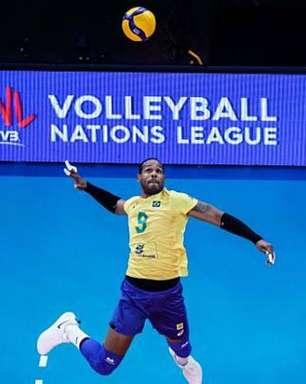 Seleção masculina do Brasil ganha fácil da França e decide da Liga das Nações