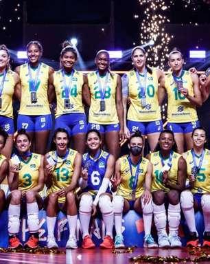 Seleção Brasileira feminina de vôlei divulga lista de convocadas para Jogos Olímpicos