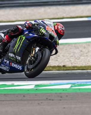 Quartararo passa Bagnaia, escapa e vence com folga em 1-2 da Yamaha na Holanda