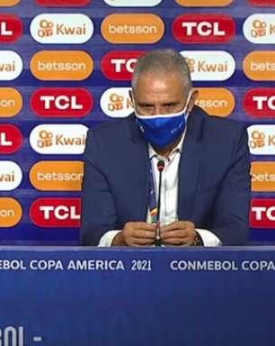 Feliz com Gabigol, Tite projeta próxima fase da Copa América