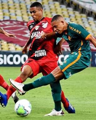 Retrospecto recente do Athletico-PR como visitante contra o Fluminense