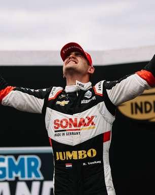 VeeKay ganha liberação dos médicos e volta ao grid da Indy no GP de Mid-Ohio