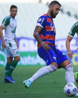 Fortaleza vence Chapecoense de virada e sobe no Brasileirão
