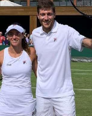 Stefani vence a 1ª com Demoliner e encara parceira em Wimbledon
