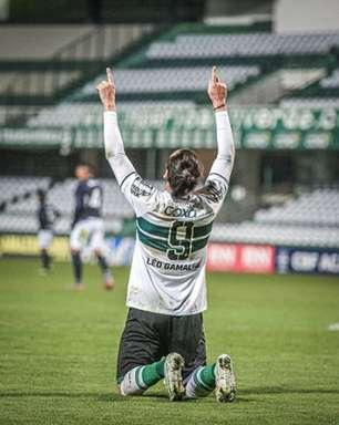 Com dois gols de Léo Gamalho, Coritiba vence o Remo e se mantém na vice-liderança da Série B
