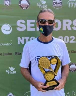 Calvet e Izoldi levam títulos no Seniors Internacional no Rio de Janeiro