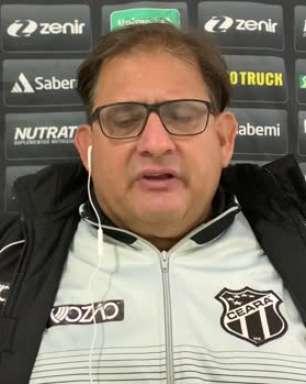 CEARÁ: Guto Ferreira vira chave, foca no confronto contra o Juventude e garante 'respeito pela fase deles'
