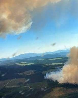 Forças Armadas do Canadá em alerta diante de avanço dos incêndios