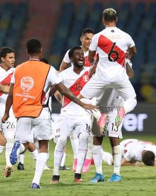 Peru bate o Paraguai nos pênaltis e avança na Copa América