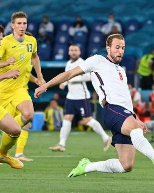 Inglaterra goleia Ucrânia e vai para a semifinal da Eurocopa