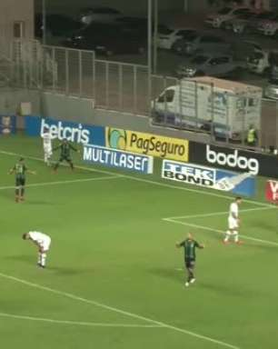 SÉRIE A: Gols de América-MG 2 x 0 Santos
