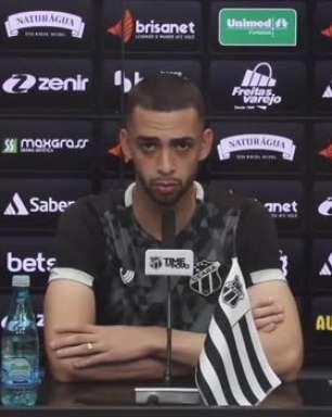 """CEARÁ: Gabriel Lacerda confia nos bons resultados nos próximos jogos como visitante: """"Queremos voltar para casa com os seis pontos na bagagem"""""""
