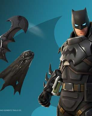 Batman de armadura chega ao Fortnite