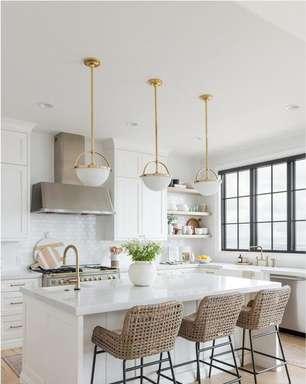 Pedra para Bancada: Conheça os Principais Tipos, +87 Ideias para Cozinha e Banheiro