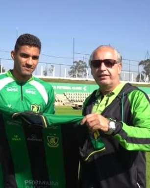 AMÉRICA-MG: Isaque é apresentado oficialmente pelo clube
