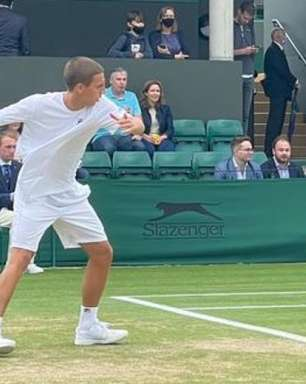 Pedro Boscardin vai às oitavas no juvenil de Wimbledon