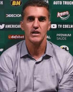 """AMÉRICA-MG: Mancini reconhece erros defensivos e avalia: """"Falta de atenção"""""""