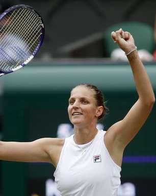Pliskova reage, bate Sabalenka e fará 1ª final em Wimbledon