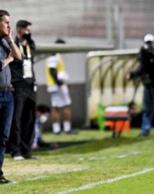 Mancini analisa derrota e vê 'grande jogo' contra o Galo : 'time mostrou que quer e pode mais no campeonato'