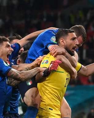 Nos pênaltis, Itália bate a Inglaterra e é campeã da Euro