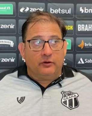 """CEARÁ: Guto Ferreira avalia partida contra o Cuiabá e pede desculpas por empate sofrido nos acréscimos: """"Fomos penalizados por um lance no fim do jogo"""""""