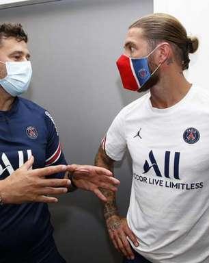 Sergio Ramos está muito animado para jogar com Neymar no PSG