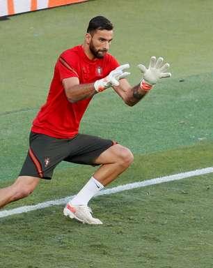 Roma contrata o goleiro Rui Patrício, da seleção portuguesa