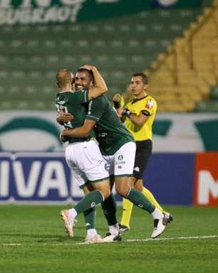 Guarani vence CRB em Campinas e entra no G4 da Série B