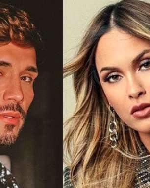 Assumidos! Sarah Andrade e Lucas Viana trocam beijo em vídeo