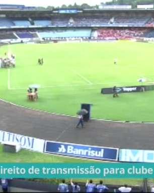 Aprovado projeto que dá direito de transmissão de jogos de futebol para clube mandante