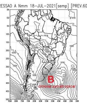 Possibilidade de neve no Sul do Brasil