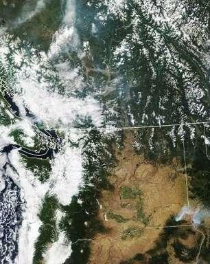 Incêndio florestal cresce e leva a novas evacuações nos EUA