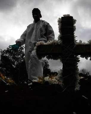 Brasil tem média móvel de 984 mortes por covid-19