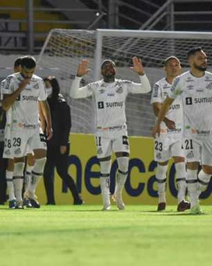 Marcos Leonardo marca no fim e Santos empata em Bragança