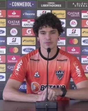 ATLÉTICO-MG: Dodô relata semanas de 'muito empenho' para se recuperar e garante estar bem para atuar os 90 minutos contra o Boca