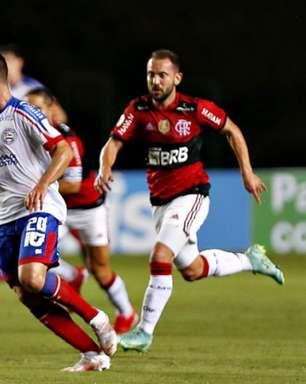 Último jogo em que Bahia tinha sofrido cinco gols foi justamente contra o Flamengo