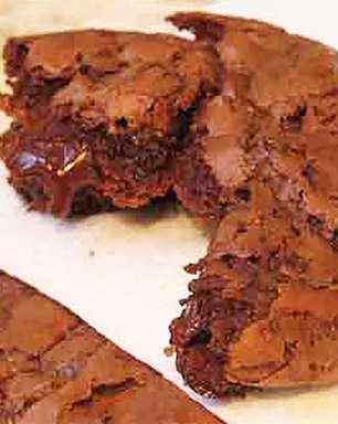 Biscoitos de chocolate macios