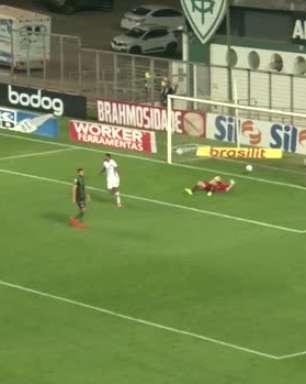 SÉRIE A: Gol de América-MG 0 x 1 Sport