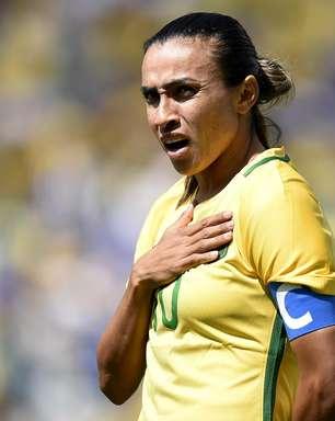 Marta enxerga menor pressão sobre a Seleção feminina