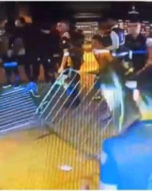 Boca faz quebra-quebra no Mineirão e tem 2 jogadores detidos