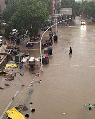 Chuvas torrenciais provocam 25 mortes na China