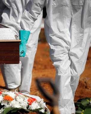 Brasil registra 1.333 mortes por covid nas últimas 24 horas