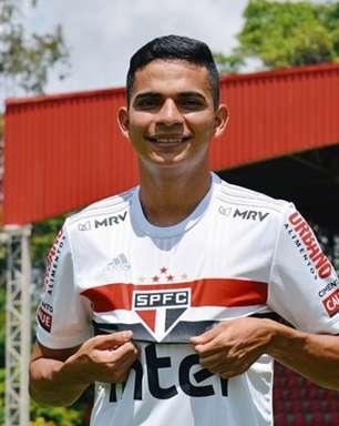 Bruno Rodrigues se despede do São Paulo: 'Obrigado por me ajudarem a realizar um sonho'