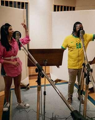 Cantora fala sobre dueto em tema oficial da Seleção Olímpica