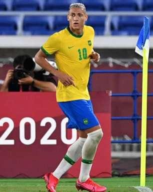 Destaque nos Jogos Olímpicos, Richarlison é desejo do técnico do Real Madrid