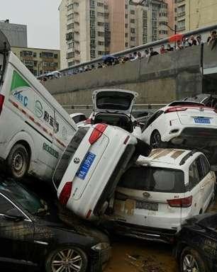 Zhengzhou começa a avaliar danos provocados pelas chuvas torrenciais